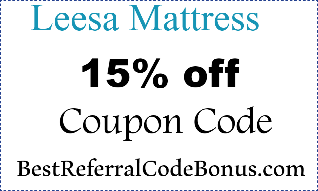 Lessa Mattress Coupon Code January, February, March, April, May, June, July, August, September, October, November, December